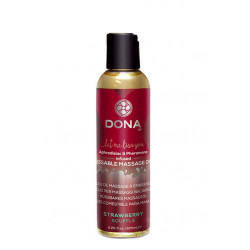 Dona Kissable Massage Oil - Strawberry