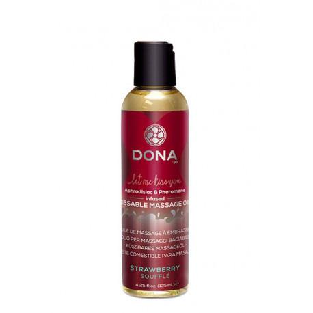 Dona Kissable Massage Oil - Strawberry