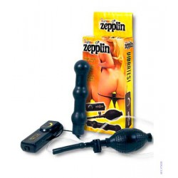 Nafukovací kolík Zepplin Black Inflatable Anal Wand