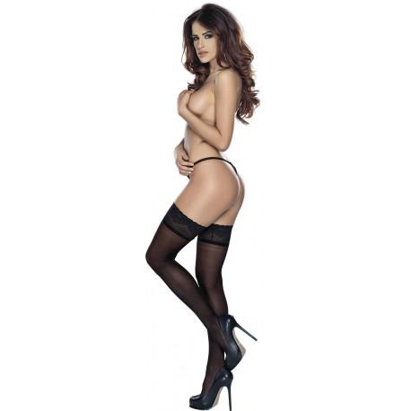 Stockings L-XL/black