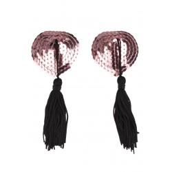 Lepítko na bradavky O-S/black-pink