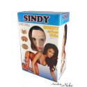 3D nafukovací panna Sindy