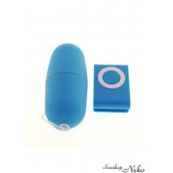 Vibrační vajíčko modré