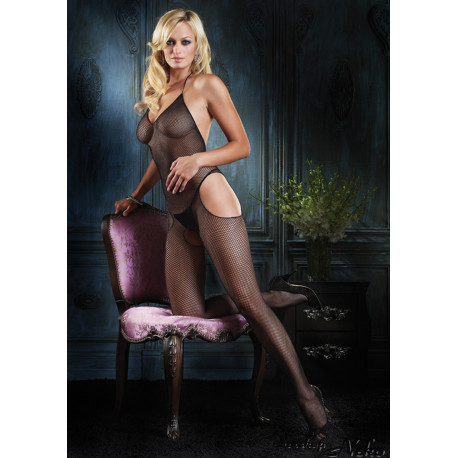 SUSPENDER BODYSTOCKING