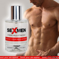 Parfém Sexmen - Strong male attractant 50ml