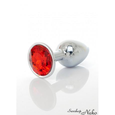 Jawellery PLUG- red