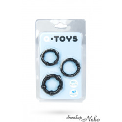 A-TOYS Cockrings set Black
