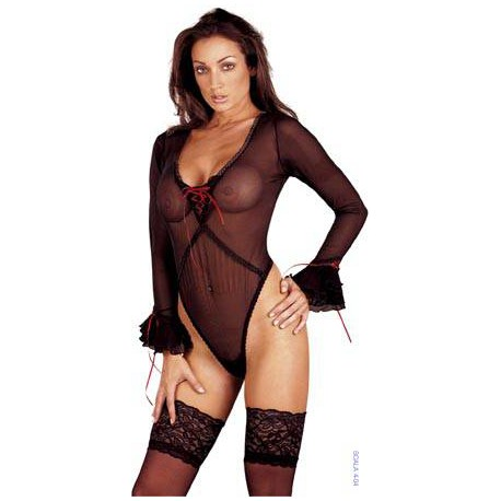 See-Through Body Black L
