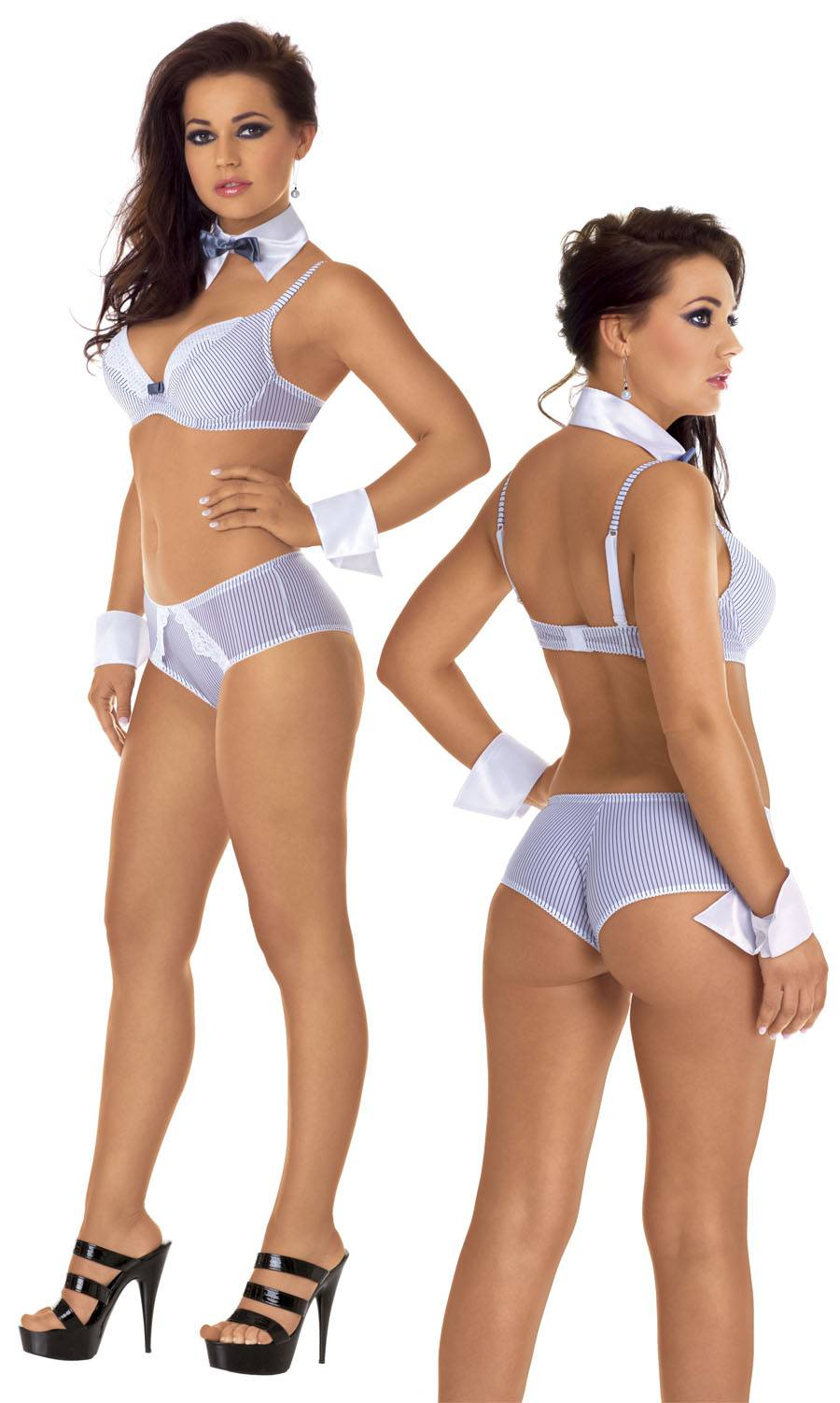 Sexy sekretářka set uniform XL/white