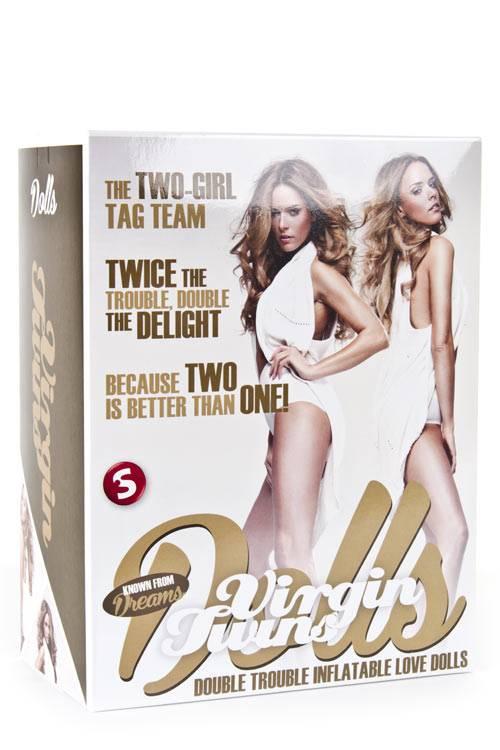 Nafukovací panny Virgin Twins Dolss