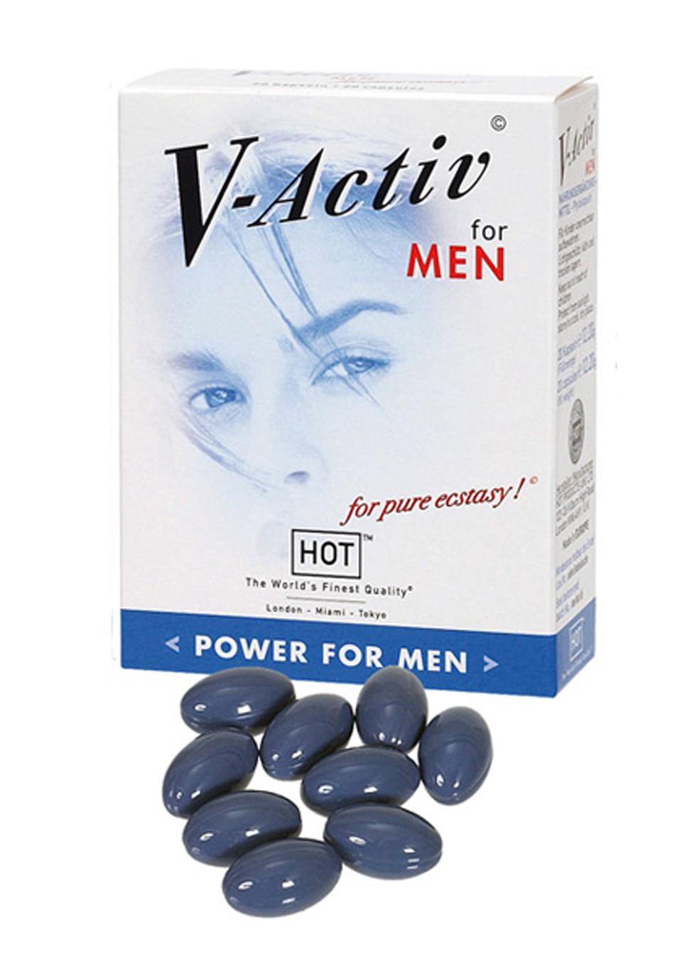 V-Activ Caps for Men- 20caps
